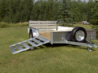 Side Ramp Available on Trailer